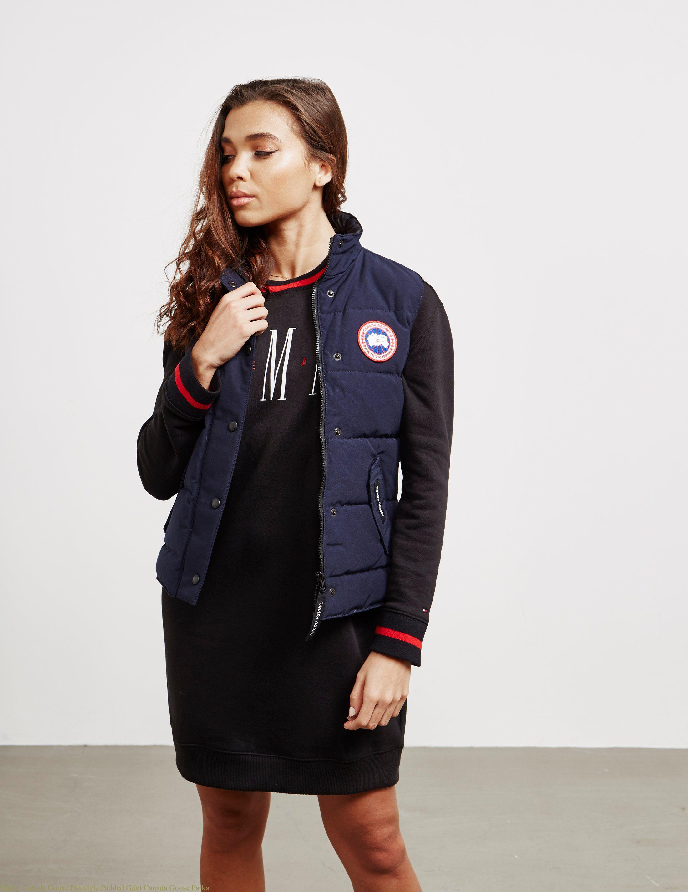 6daf38230 Cheap Canada Goose Freestyle Padded Gilet Canada Goose Parka