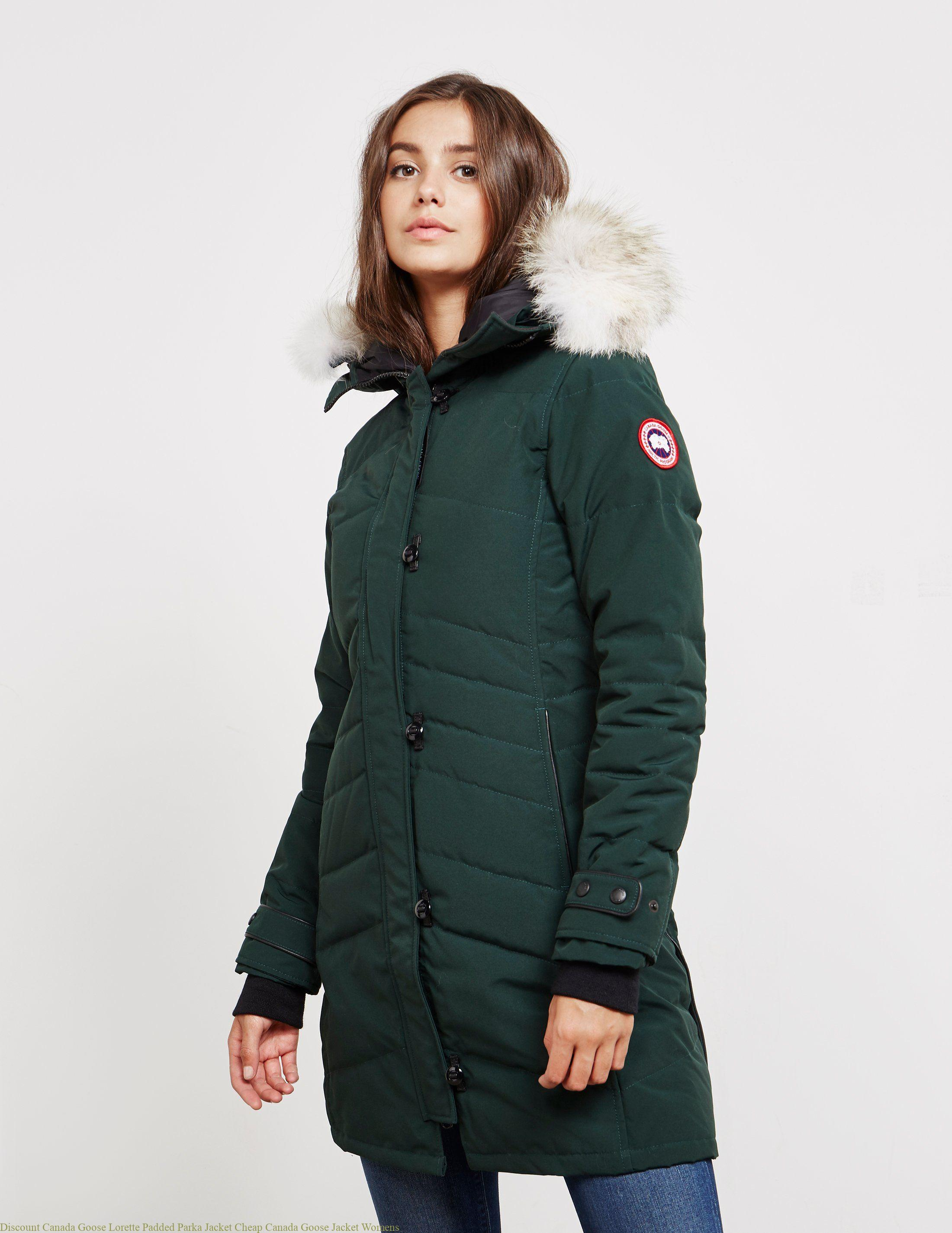 Discount Canada Goose Lorette Padded Parka Jacket Cheap Canada Goose Jacket Womens