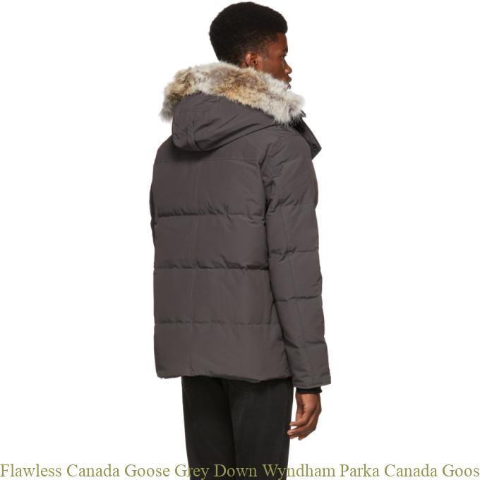 size 40 f846e 390b0 Flawless Canada Goose Grey Down Wyndham Parka Canada Goose Outlet Jackets  2844298